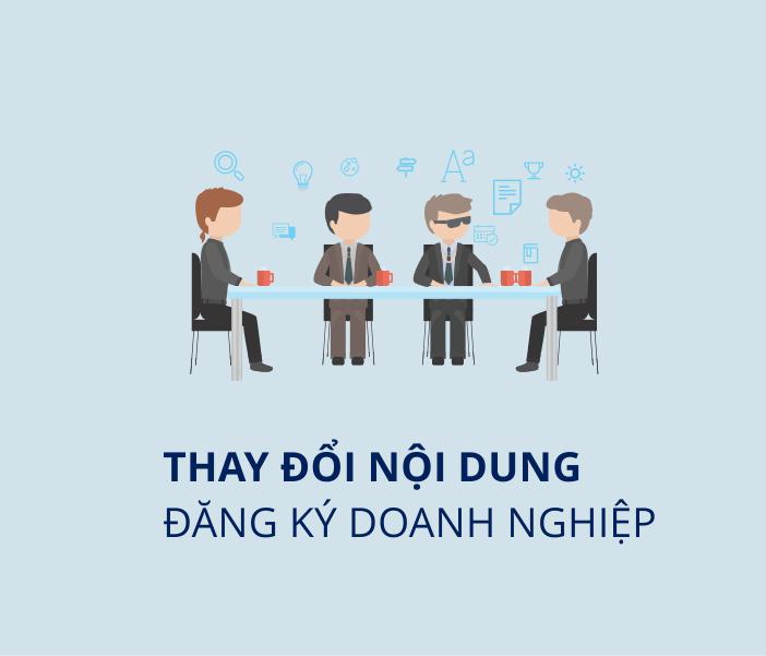 Thay đổi giấy chứng nhận đăng ký doanh nghiệp