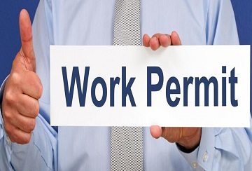 WORKING PERMITS FOR KOREAN WORKERS