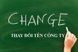 Thay đổi tên công ty TNHH theo luật doanh nghiệp 2020